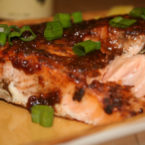 Grilled Jamaican Salmon
